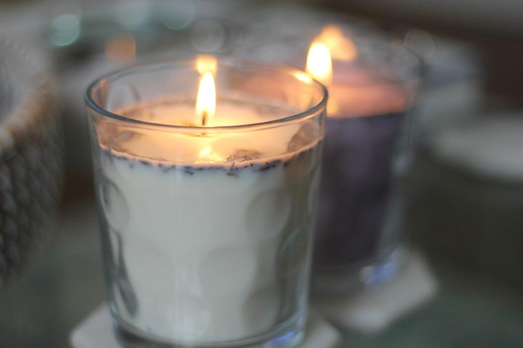 DIY Lavendar Candle - Torera George