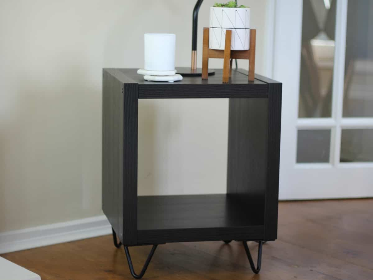 DIY side table | IKEA hack