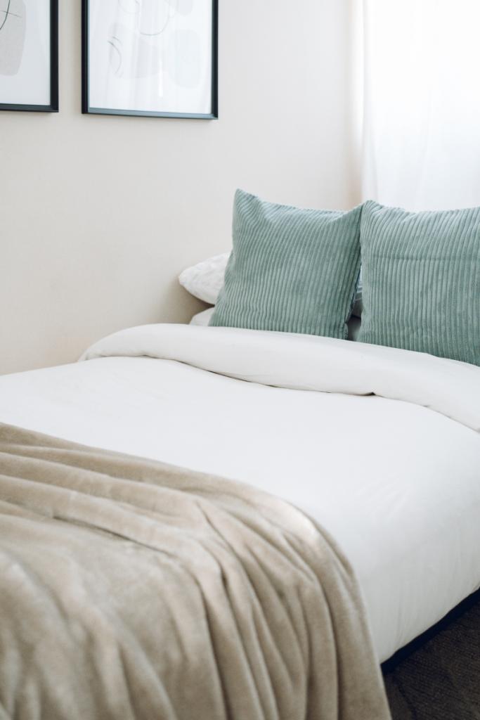 create bedroom in living room