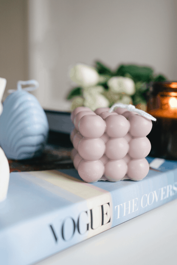 how to make moulded candles